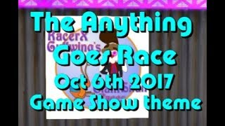 anything goes Race 2017 10 06 Game Show