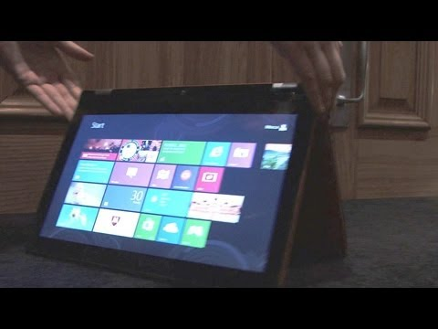 Windows 8 Laptop: Lenovo Ideapad Yoga 13 Ultrabook Laptop Hands: Price, Specs & Features