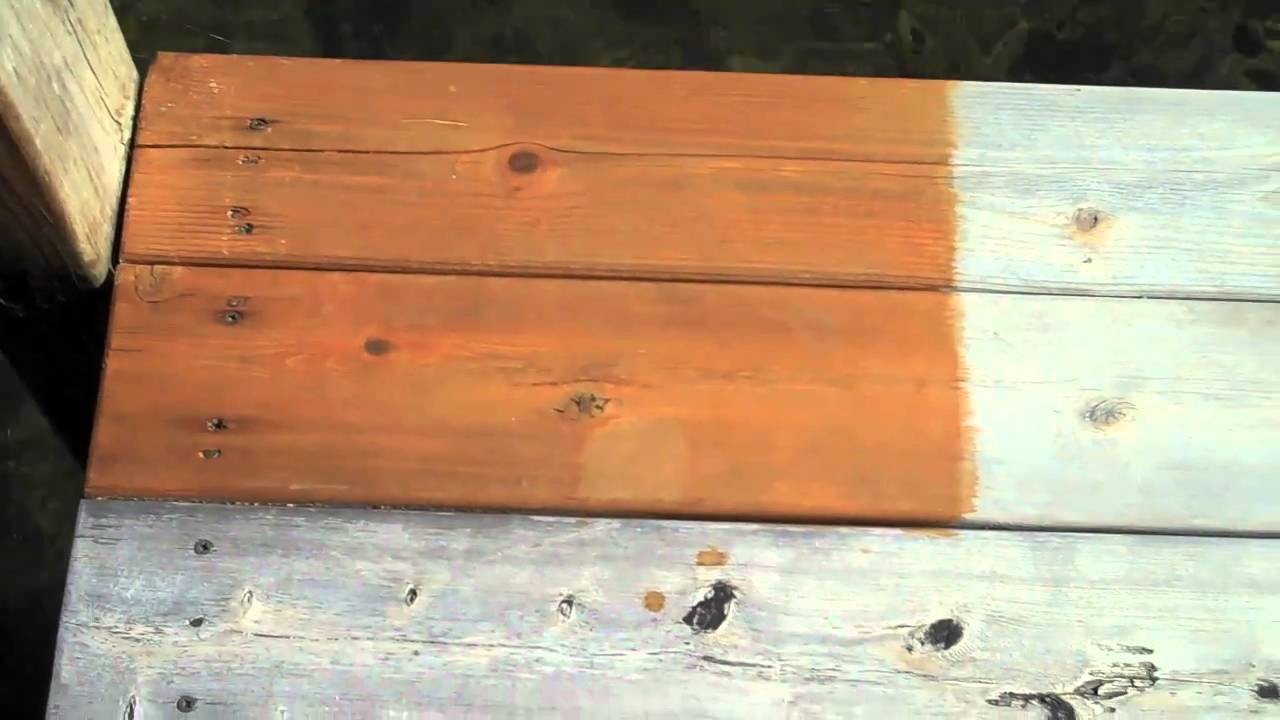 Deck Sealer Test Results Part 2 Youtube