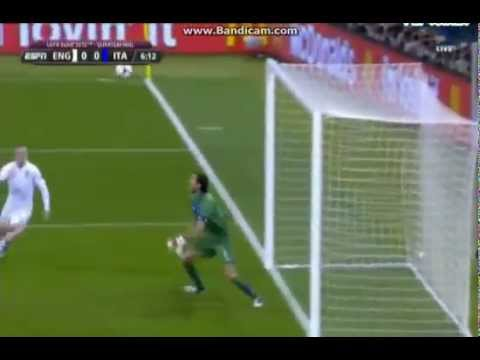 Really nice SAVE!! Buffon vs England