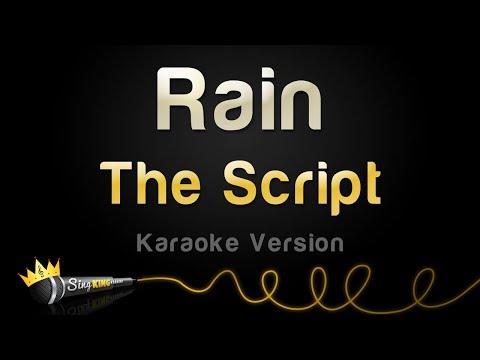 The Script - Rain (Karaoke Version)
