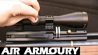 How To Zero An Air Rifle Scope | Air Armoury