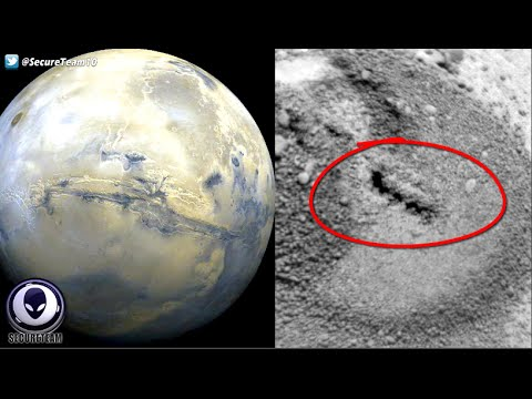 Must See! Planet Mars Has Something Moving Under Its Surface! 6/18/16
