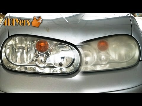 DIY: Polishing Your Foggy Plastic Headlights
