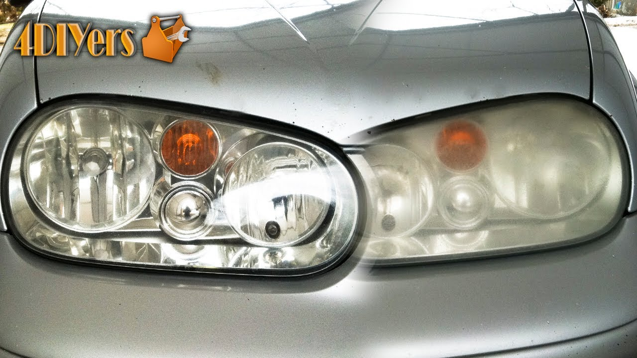 Car Headlight Glass Replacement