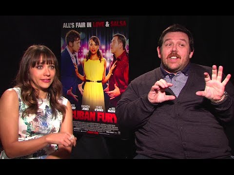 Nick Frost & Rashida Jones Interview - Cuban Fury (2014) JoBlo.com HD