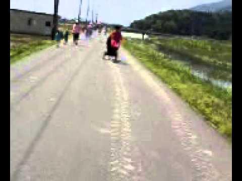 奥びわ湖健康マラソン ベビランで参加!