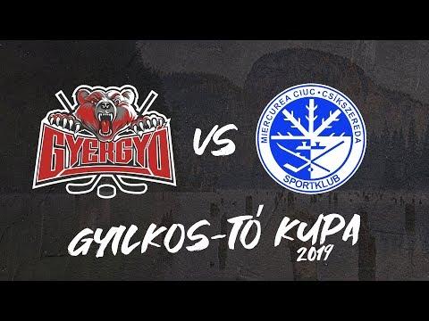 Gyergyói HK - Csíkszeredai Sportklub 4-1 összefoglaló (Gyilkos-tó Kupa 2019)