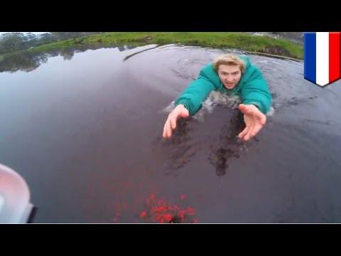 Drone rescue: Dutch geek makes epic leap into freezing canal to save $600 DJI Phantom 2