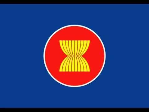 日本 Japan の国旗によく似ている 東南アジア諸国連合 ASEAN の旗 - YouTube