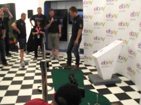 BTCC's Colin Turkington's attempt at golf!
