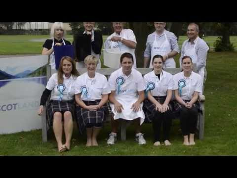 Scotland Food & Drink do the Ice Bucket Challenge! We were challenged by MacRoberts, and in turn, challenge the Scottish Government food & drink policy team!