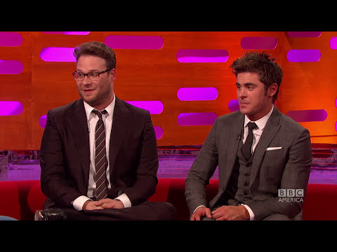 SETH ROGEN & Wild Baby Stunts From Neighbors Movie - The Graham Norton Show on BBC America
