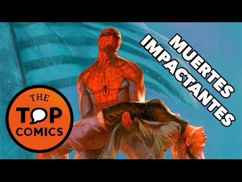 Top 9 muertes impactantes en los comics