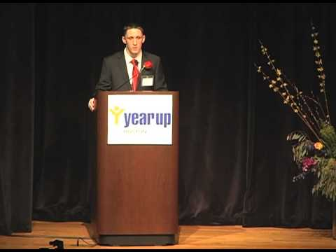 Sean Pyne speaks at Year Up Boston January 2013 graduation (short version)