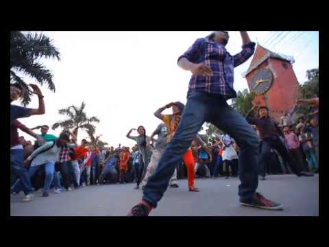 ICC World Twenty20 Bangladesh 2014 - Flash Mob, Sylhet Engineering College