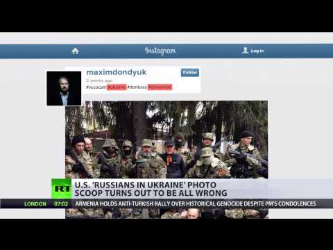 Fact-Check Fail: False Kerry & MSM claims on 'Russians in Ukraine'