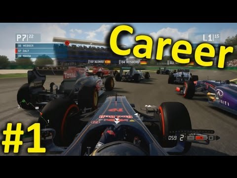 F1 2013 Career Mode Part 1: Melbourne, Australia