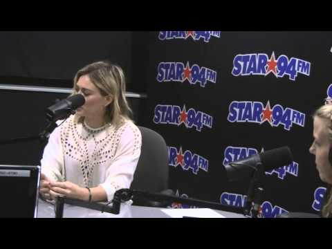 Hilary Duff Interview with Star 94 Mornings