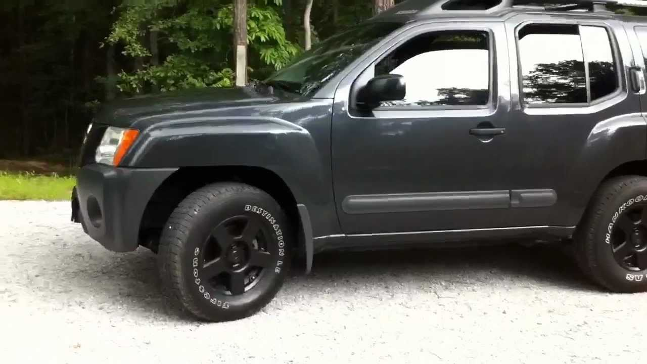 2005 4wd Xterra With Plasti Dip Before And After No