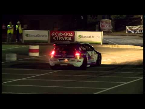 Rally del Casentino IRC 2014 - PS 1 ( WRC - R5 - S2000 )