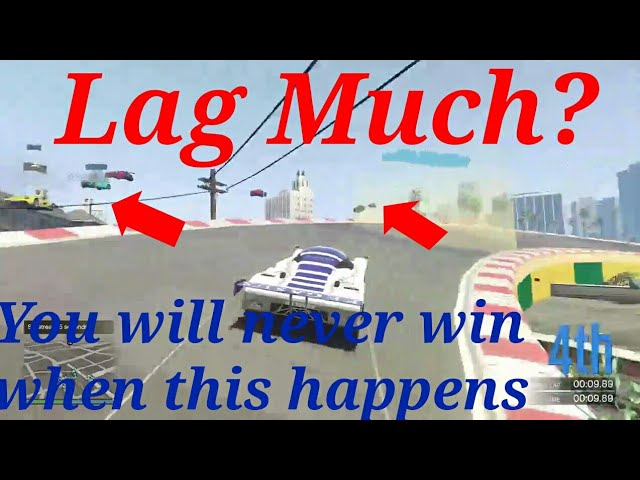 LAG MUCH? You will never win when this happens GTA 5 Online