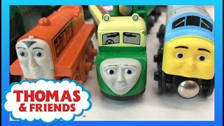 TOTALLY THOMAS TOWN UNBOXING! Wooden Train Haul