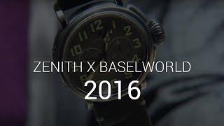 Baselworld 2016 - Zenith z Olivierem Janiakiem