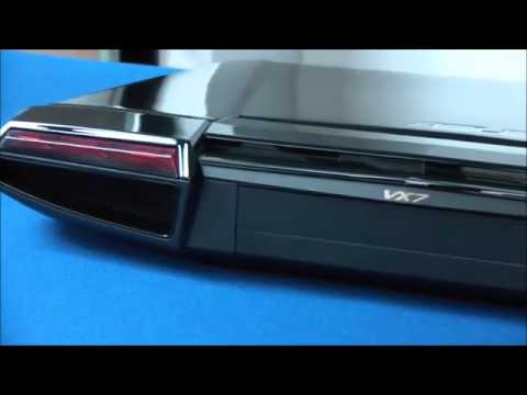 ASUS Lamborghini VX7Sx Notebook Hands on Review 360p