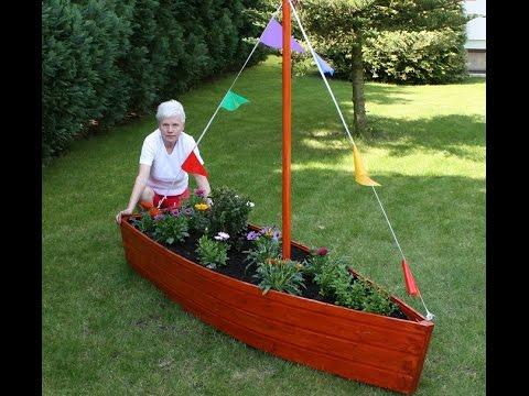 Blumenboot/Gartendekoration- Bauanleitung.movie