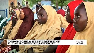 Dapchi girl still held by Boko Haram refused to convert to Islam
