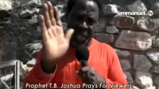 SCOAN 21/08/16: TB Joshua Prayer For Viewers At Paul & Silas Prison In Philippi (Greece)
