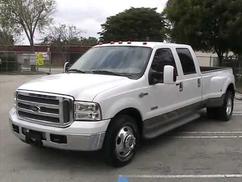 #2 For Sale 2006 Ford F-350 King Ranch Super Duty southeastcarsales.net - YouTube