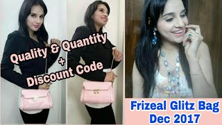 Frizeal December 2017 | Glitz Bag with Discount Code | Unboxing & Review |