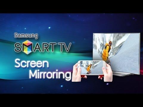 สอนการใช้งาน Screen Mirroring โชว์หน้าจอมือถือบนจอสมาร์ททีวี แบบไร้สาย!!!