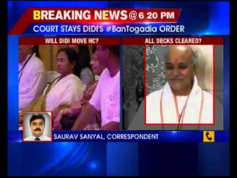 Court stays ban on Pravin Togadia visit in West Bengal