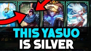 Do They Deserve it? Placing a Silver Yasuo in a Platinum Solo Q Game - League of Legends