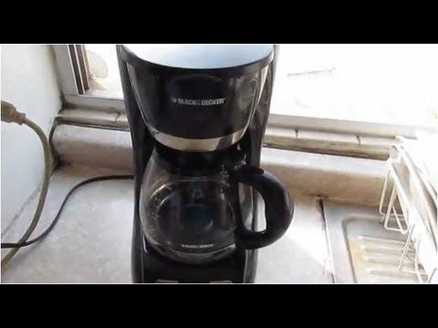 Como hacer cafe en cafetera electrica