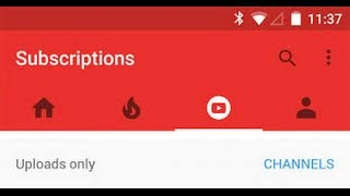 Clear/Delete YouTube Search History on Android