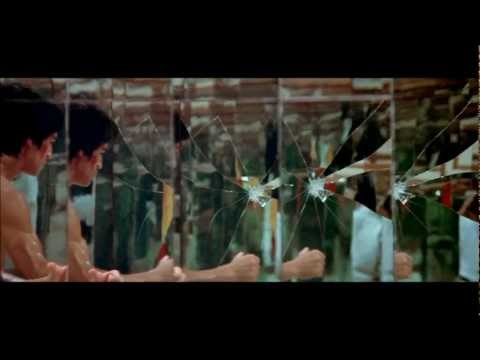 Bruce Lee. Mirrors. Destroy The Image And You Will Break The Enemy. Hd video