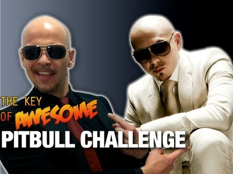 Take the Key of Awesome Pitbull Challenge!