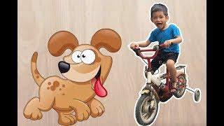 Bé Bo Chơi Trò Chơi Ghép Hình Con Chó - Animal Names Puzzle Dog  - BVA TV