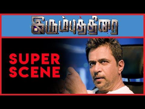 Irumbu Thirai - Super Scene 9 | Vishal | Arjun Sarja | Samantha Akkineni