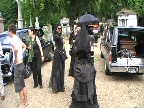 Owner of Victorian Gothic wearing the Ducrow Gown and veil