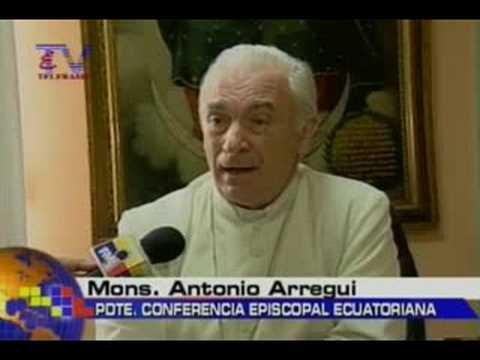 Monseñor Arregui denuncia haber recibido amenazas