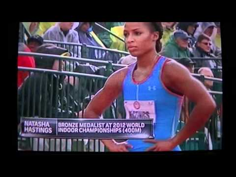 2012 U.S. Olympic trials women 400m semifinal