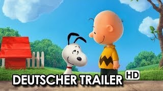 PEANUTS Der Snoopy Und Charlie Brown Film Teaser (2015) - German | Deutsch HD