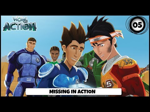 Vir presents Hot Wheels Battle Force 5 | Ep 5 - Missing In Action | Action shows for kids