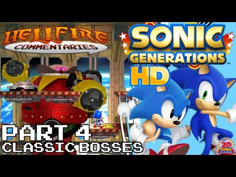 Sonic Generations HD playthrough [Part 4: Classic Missions, Rival and Boss]