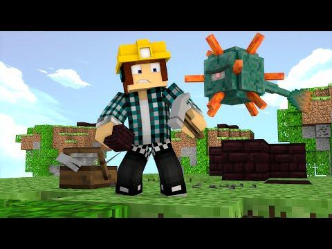 Minecraft: CONSTRUA OU MORRA !! - ( Novo Mini-Game)